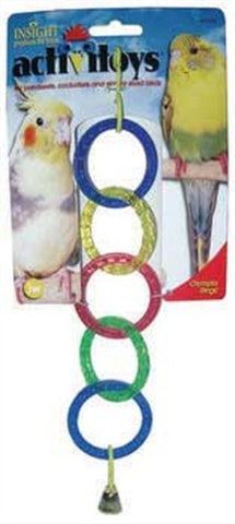 JW PET - ActiviToys Olympia Rings Bird Toys