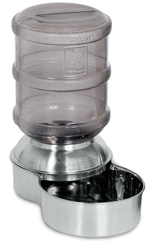 PETMATE - Stainless Steel Replendish Pet Waterer Small - 1 Gallon