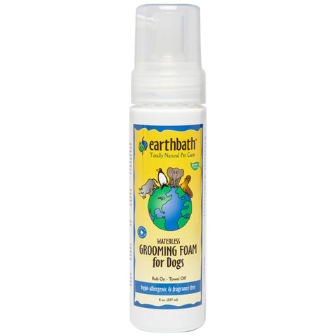 EARTHBATH - Hypo-Allergenic Waterless Grooming Foam for Dogs