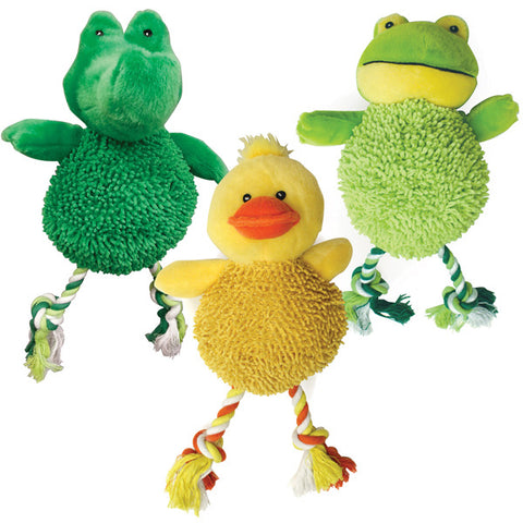 SPOT - Gigglers Plush Pals Dog Toy Assorted