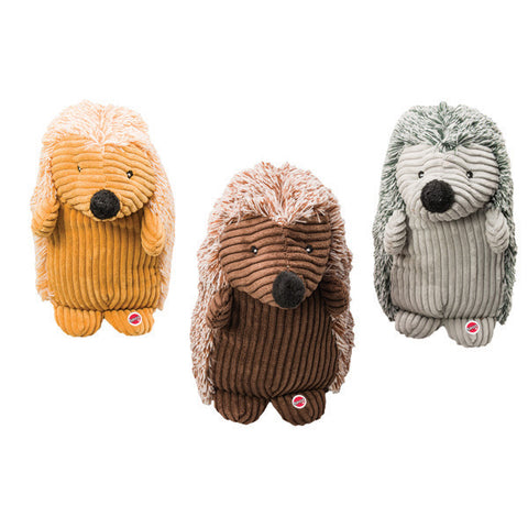 SPOT - Corduroy Hedgehogs Plush Dog Toy Assorted
