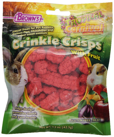 F.M. BROWN'S - Tropical Carnival Crinkle Crisps Crinkle Crisps with Fruit