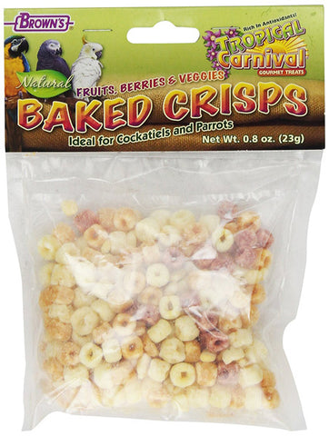 BROWN'S - Tropical Carnival Natural Baked Crisps