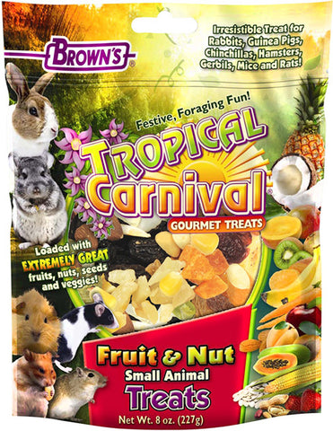 BROWN'S - Tropical Carnival Fruit & Nut Small Animal Treats