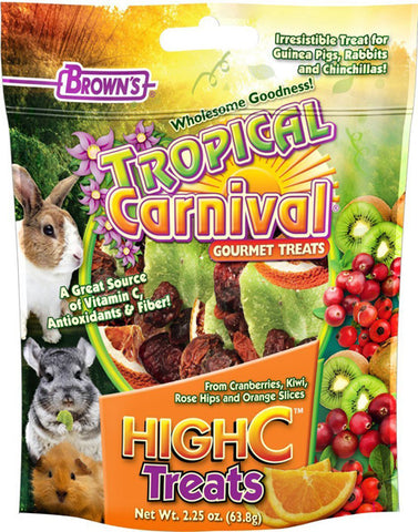 BROWN'S - Tropical Carnival High C Treat for Small Animals
