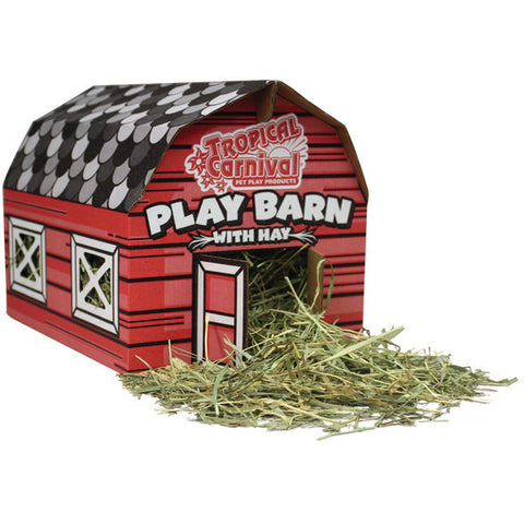 BROWN'S - Tropical Carnival Play Barn with Hay Large