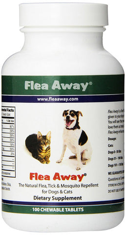 FLEA AWAY - All Natural Flea Repellent for Dogs and Cats