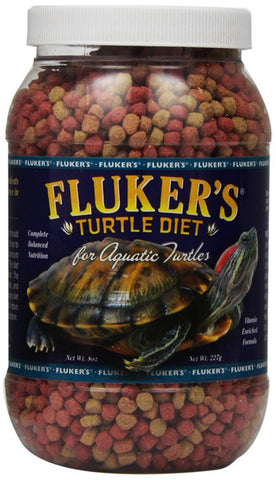 FLUKER FARMS - Aquatic Turtle Diet
