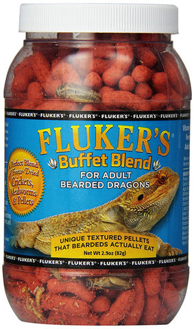 FLUKER FARMS - Buffet Blend Adult Bearded Dragon Formula