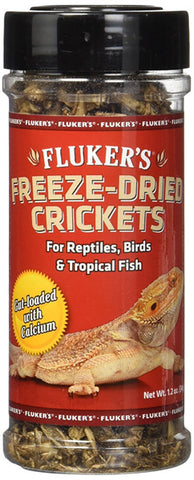FLUKER FARMS - Freeze-Dried Crickets