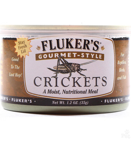 FLUKER FARMS - Gourmet Canned Food Crickets