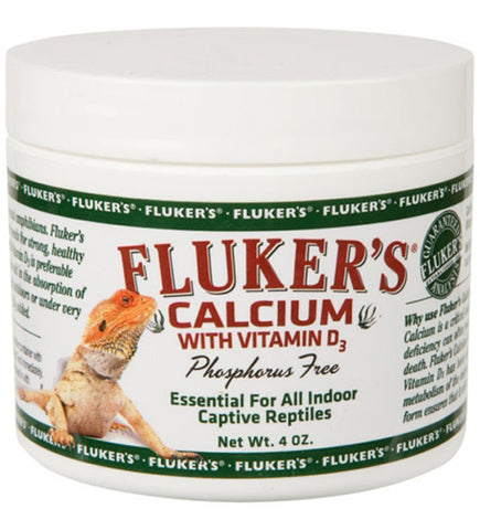 FLUKER FARMS - Repta Calcium with Vitamin D3