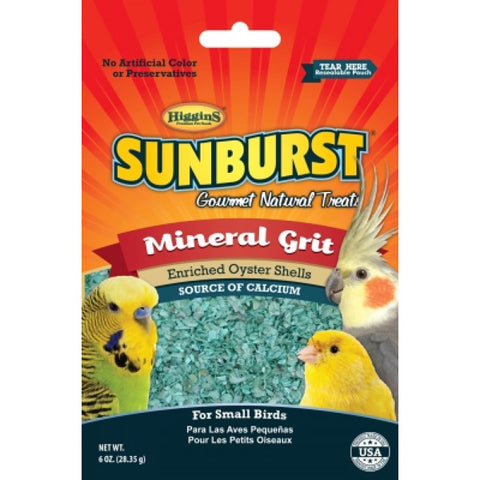 SUNBURST - Mineral Grit Gourmet Treats for Small Birds