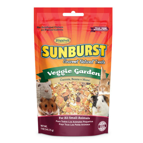 SUNBURST - Veggie Garden Gourmet Treats for all Small Animals