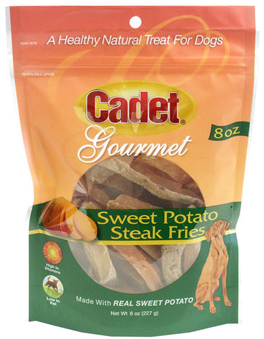 CADET - Sweet Potato Steak Fries Dog Treats