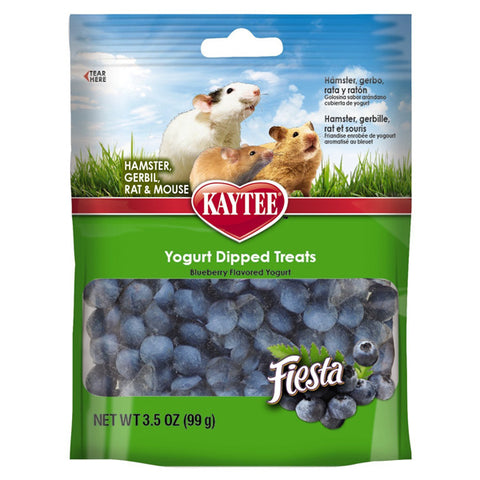 FIESTA - Blueberry Flavored Yogurt Dipped Hamster & Gerbil Treats