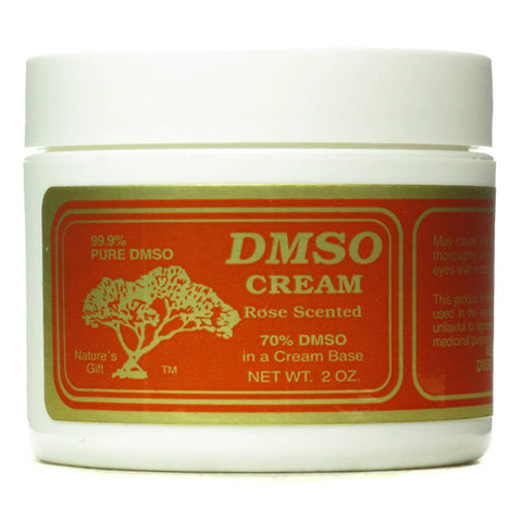 Dmso Cream Rose Scented 70 DMSO in a Cream Base