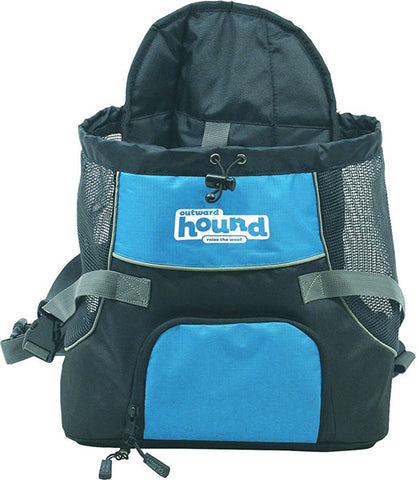 OUTWARD HOUND - Pooch Pouch Front Carrier For Dogs Blue Medium