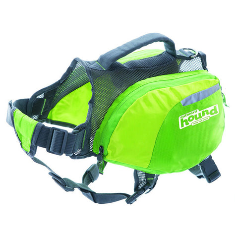 OUTWARD HOUND - DayPak Medium Dog Backpack Green