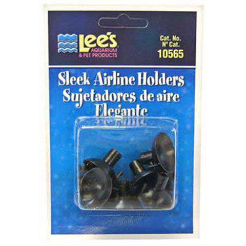 LEE'S - Airline Holders for Aquarium Pumps Black 6-Blister