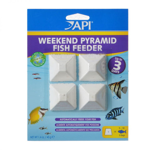 API - Weekend Pyramid Fish Feeder