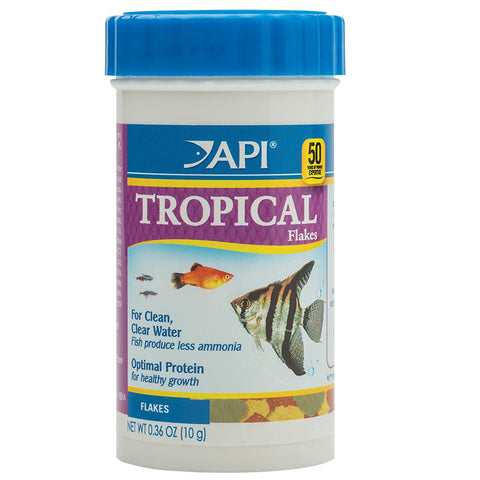 API - Tropical Flakes Fish Food