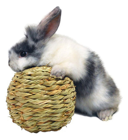 PETERS - Woven Grass Play Ball for Small Animal