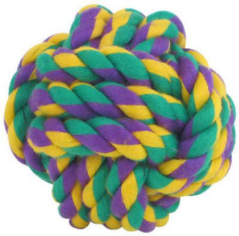 MULTIPET - Nuts for Knots Ball Dog Toy Medium
