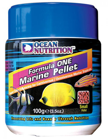 OCEAN NUTRITION - Formula One Marine Pellet Small