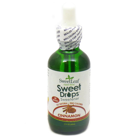 SWEET LEAF - Sweet Drops Liquid Stevia Cinnamon
