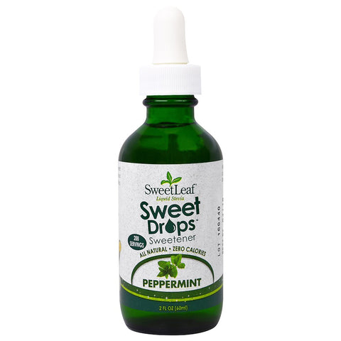 SWEET LEAF - Sweet Drops Liquid Stevia Peppermint