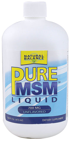 Natural Balance - PureMSM Liquid - 16 oz