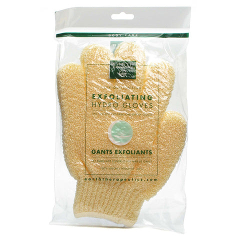 EARTH THERAPEUTICS - Exfoliating Hydro Gloves Natural