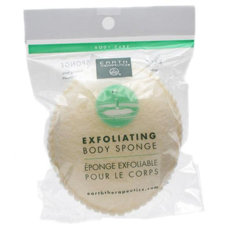 EARTH THERAPEUTICS - Exfoliating Body Sponge