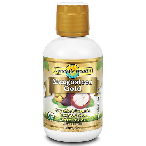 DYNAMIC HEALTH - Mangosteen Gold 100% Pure Organic Juice