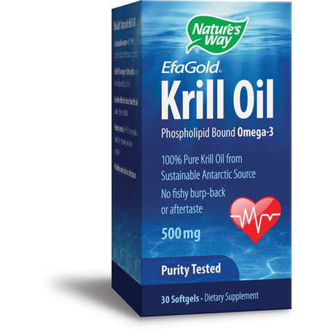 NATURES WAY - EFAGold Krill Oil 500 mg