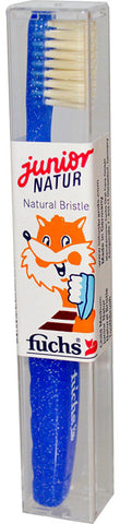 Fuchs Brushes Natural Bristles Junior Toothbrush Medium