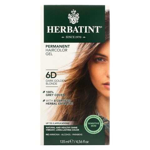 Herbatint Dark Golden Blonde 6d