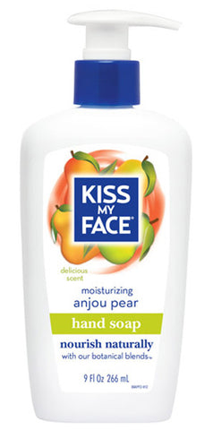 Kiss My Face Moisture Hand Soaps Anjou Pear
