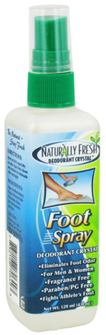 Naturally Fresh Deodorant Crystal Foot Spray