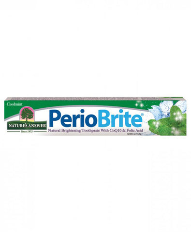 Natures Answer PerioBrite Natural Toothpaste