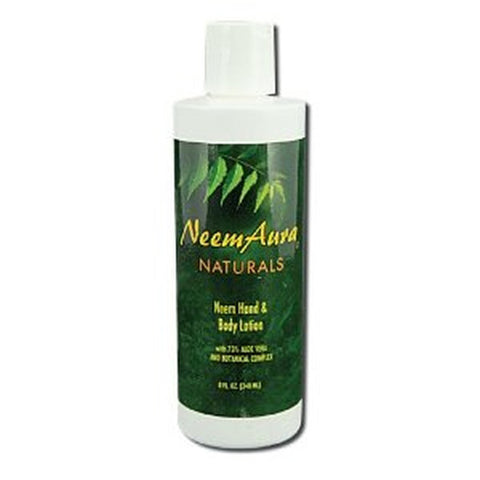 Neemaura Naturals Hand and Body Lotion With Aloe Vera