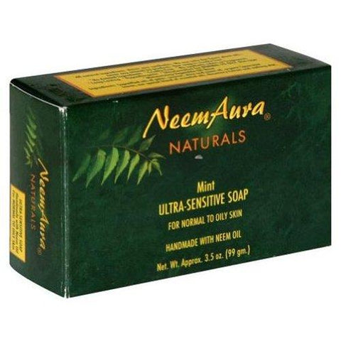 Neemaura Naturals Neem Soap Mint Normal to Oily Skin