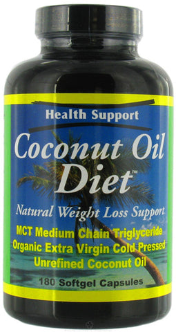 HEALTH SUPPORT - Coconut Oil Diet