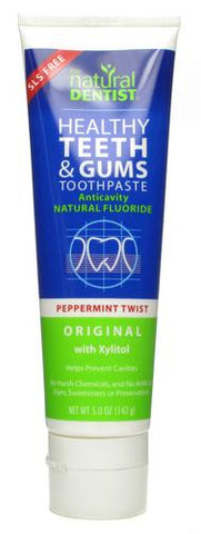 Natural Dentist Healthy Teeth and Gums Original Peppermint Twist