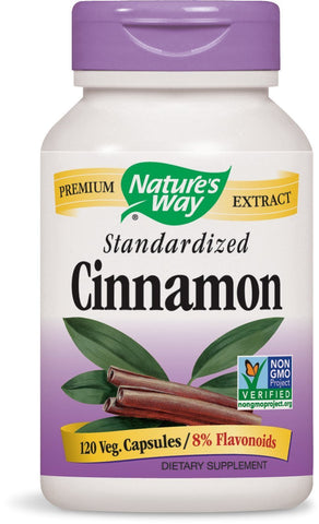 NATURES WAY - Cinnamon Standardized