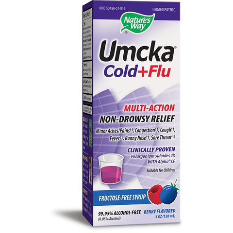 NATURES WAY - Umcka Cold and Flu Berry Syrup