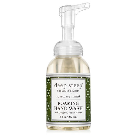 Deep Steep Foaming Hand Wash Rosemary Mint
