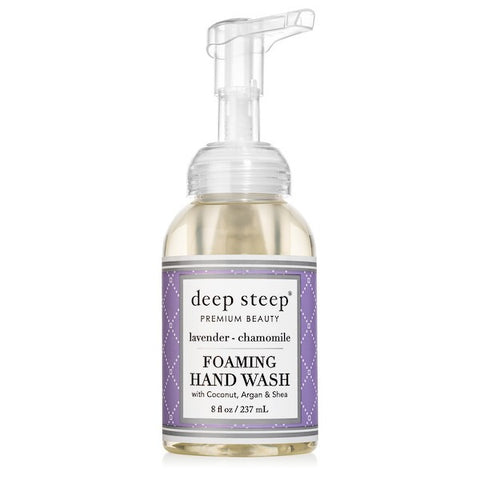 DEEP STEEP - Foaming Hand Wash Lavender Chamomile