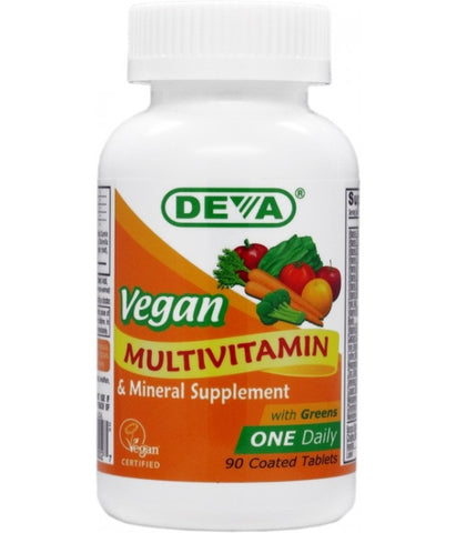 Deva Nutrition Vegan One Daily Multivitamin Mineral